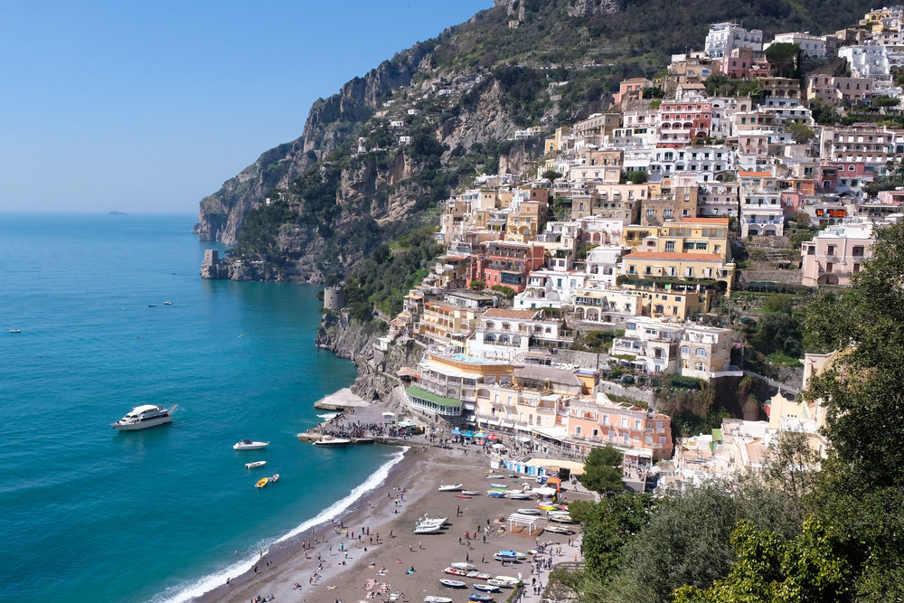 How to visit The amalfi coast on a budget - May 17th, 2018