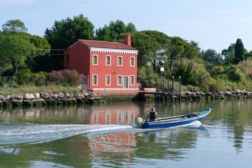 Experience another side of venice: Burano and Mazzorbo - June 20th, 2018