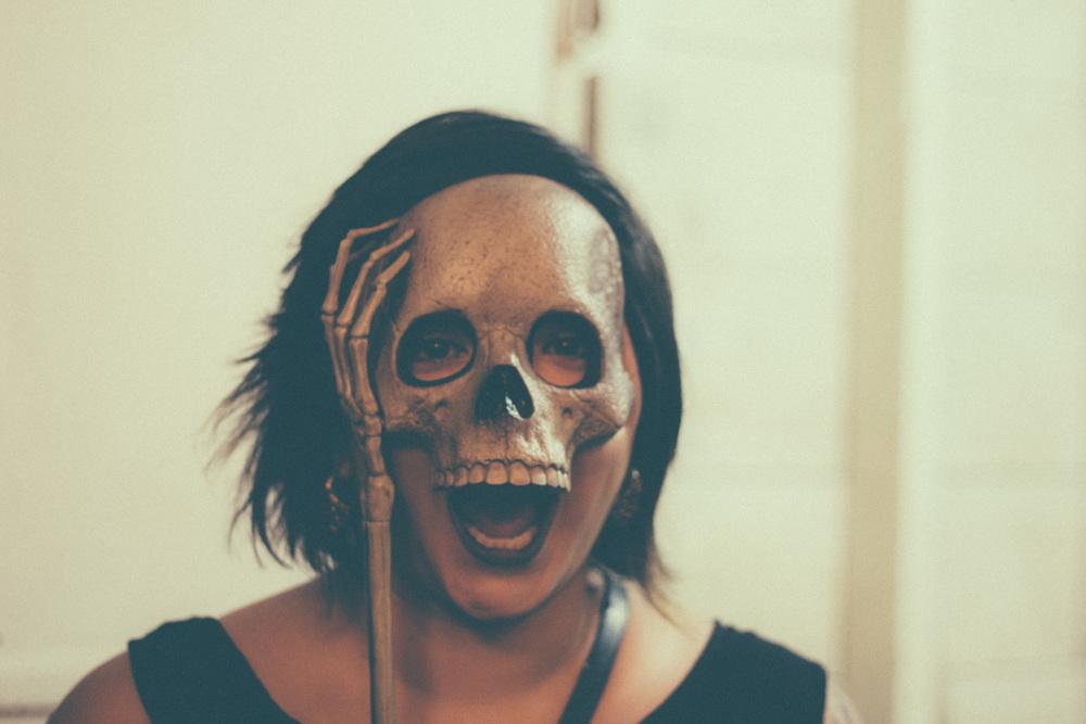esqueleto mask