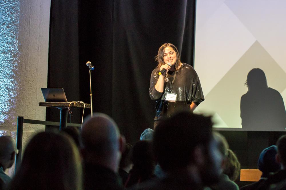 Gray Area Art Executive Director & Founder Josette Melchor