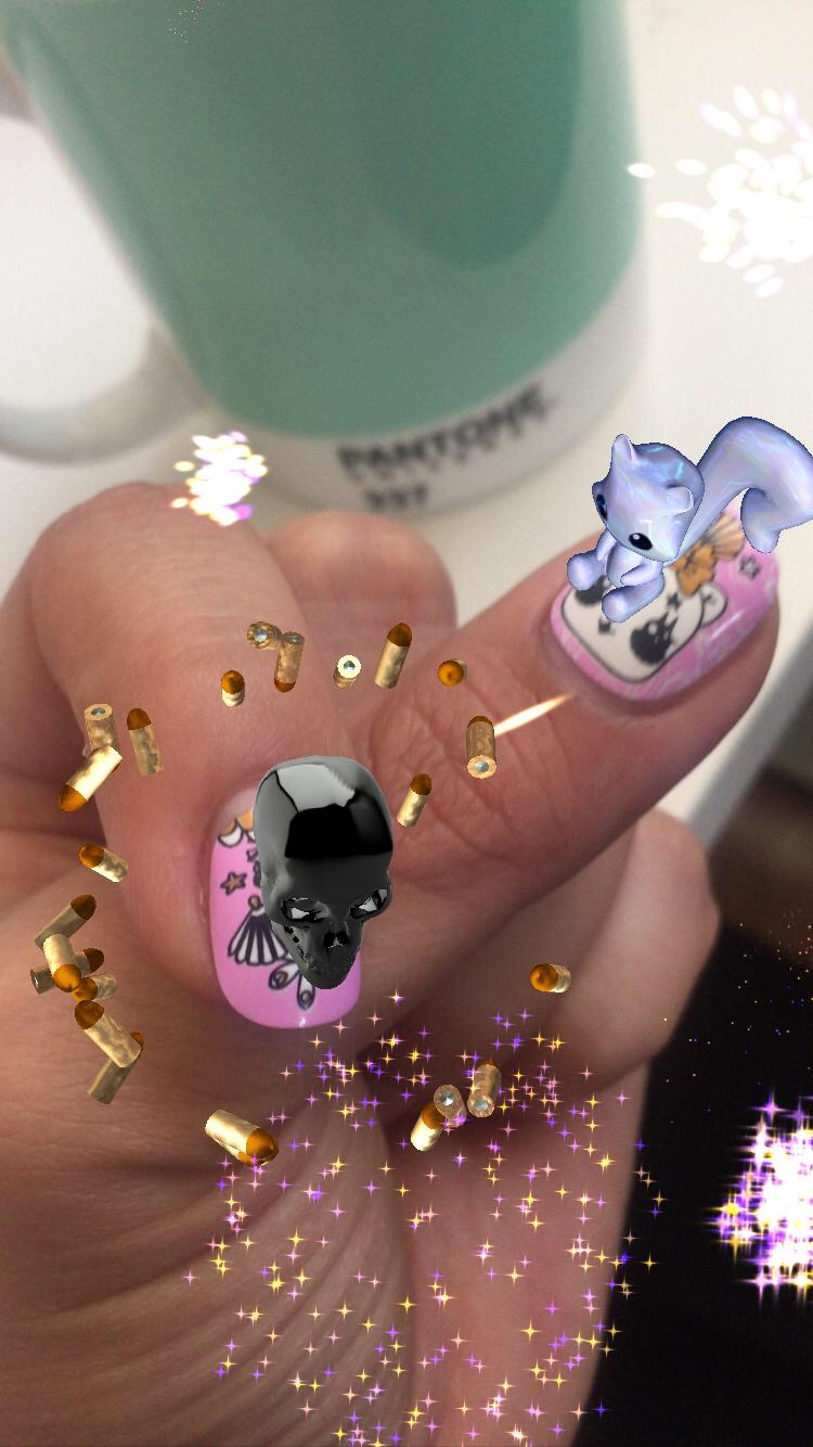 metaverse nails augmented reality girls femme female AR