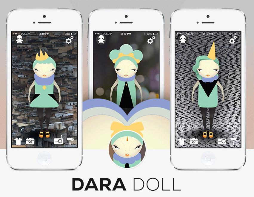 dara doll digital toy app