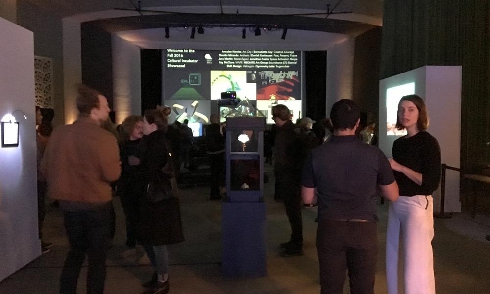 The incubator showcase at Gray Area