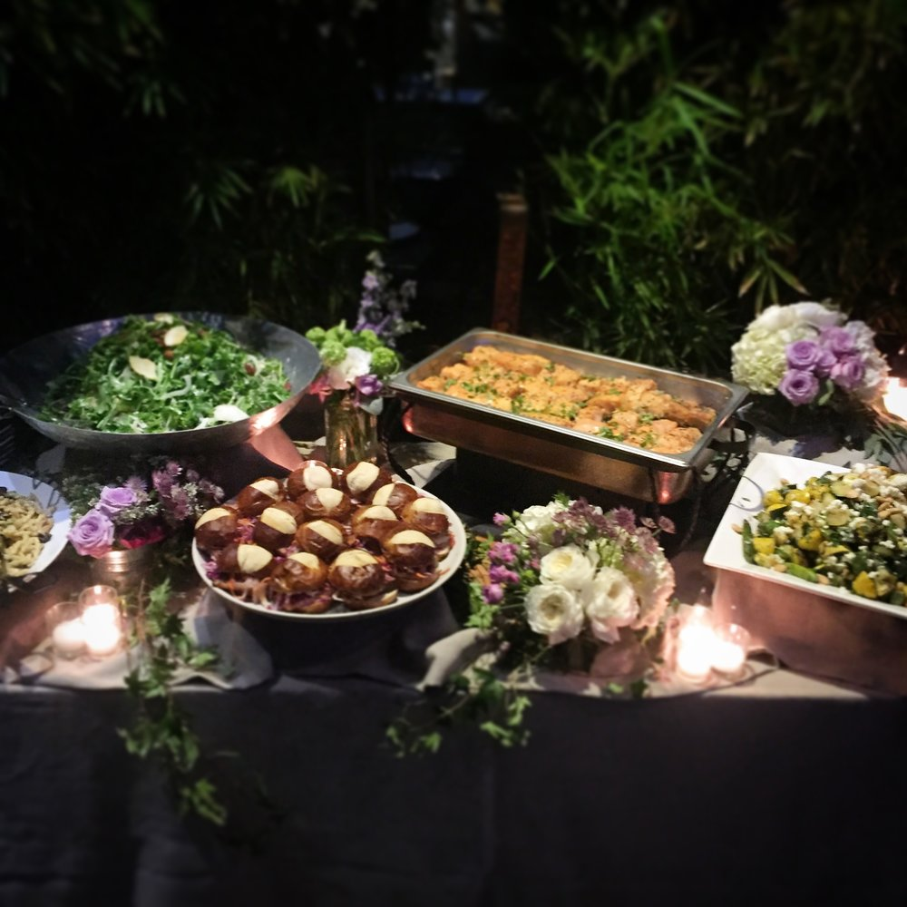 A Buffet by Chef Cordelia Full Service Catering