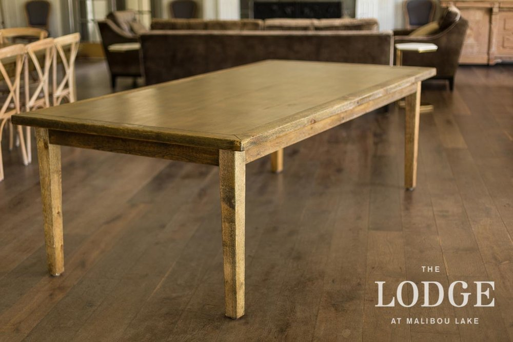 4'x8' Farmhouse Table (18 in stock)
