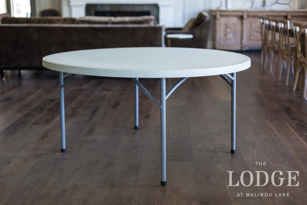 "60"" Round Dining Table (15 in stock)"