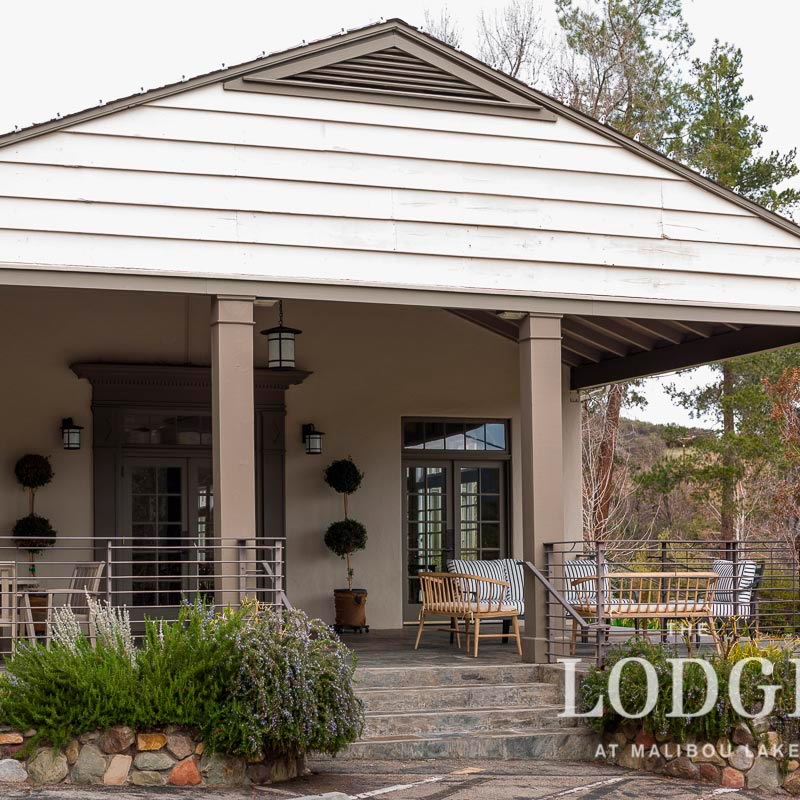 Front Porch at Malibou Lake Lodge