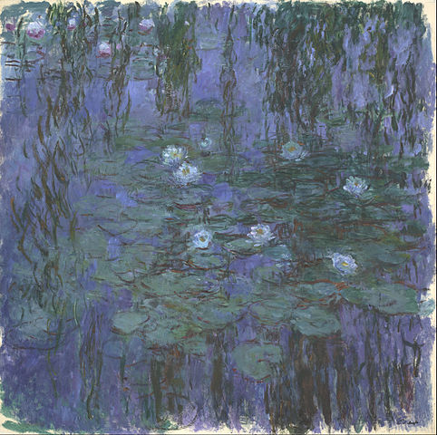 Monet's Blue Waterlilies, Musee D'Orsay 1916
