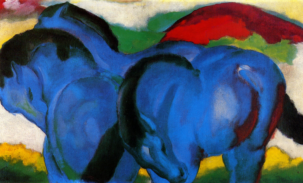 Franz Marc The large blue horses cropped.jpg