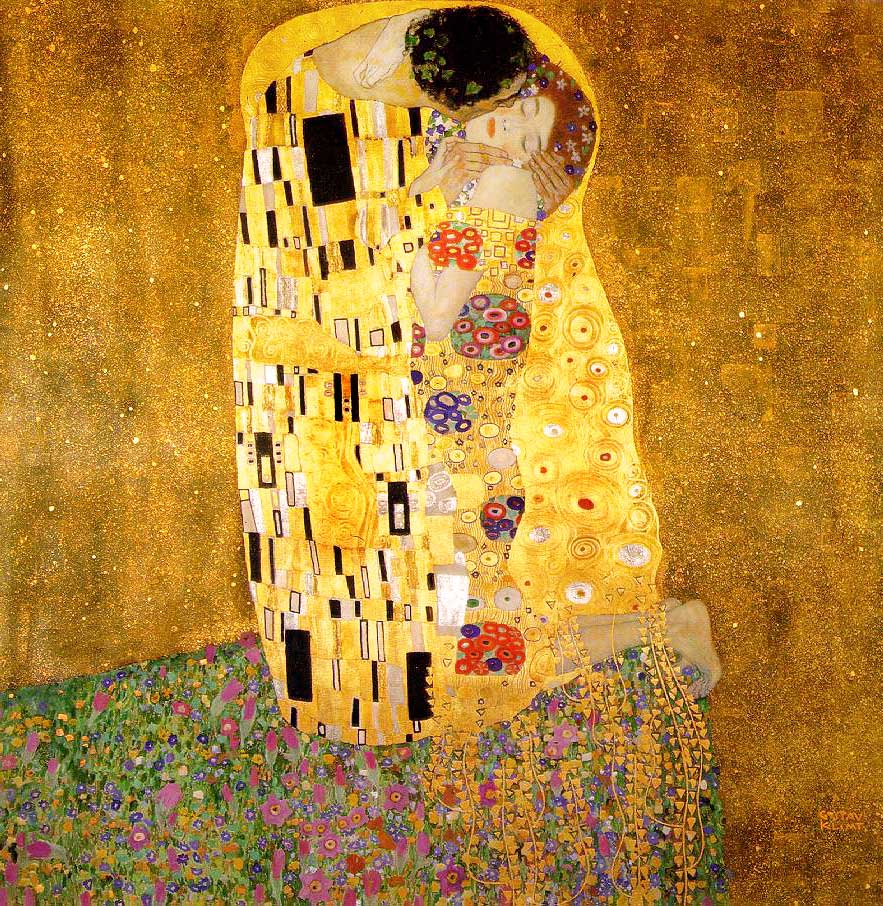 Gustav Klimt - The Kiss - 1908