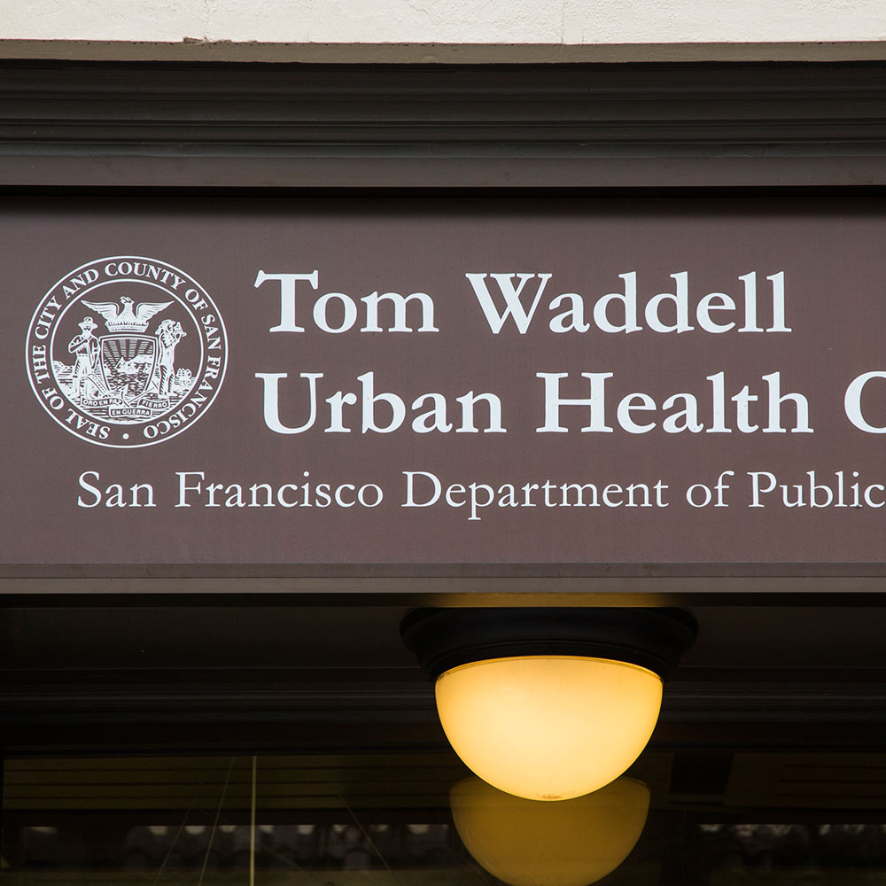 Tom Waddell Medical Clinic    230 Golden Gate Ave