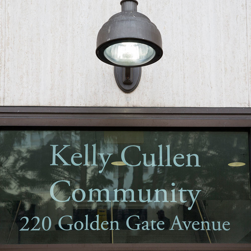 Kelly Cullen Community   220 Golden Gate Ave  Residents only