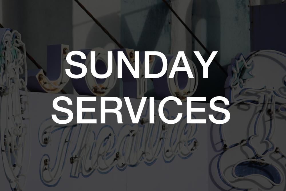 Please join us! We gather for weekly Sunday morning worship services  at the Joyo Theatre in Havelock.