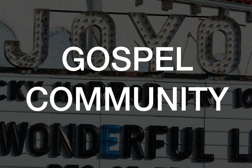 We gather weekly in Gospel Communities (our version of small groups) to live out the gospel in community and on mission.