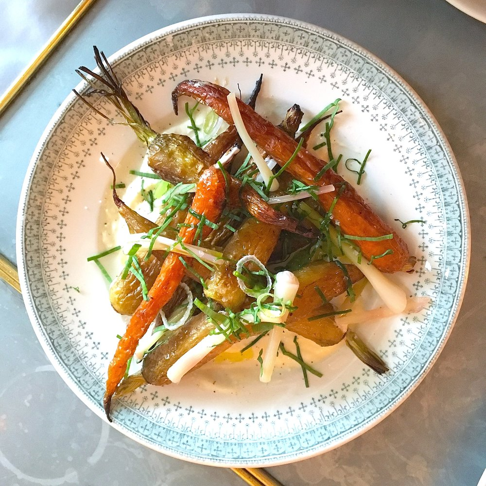 multicolor carrots, cloumage, ramp
