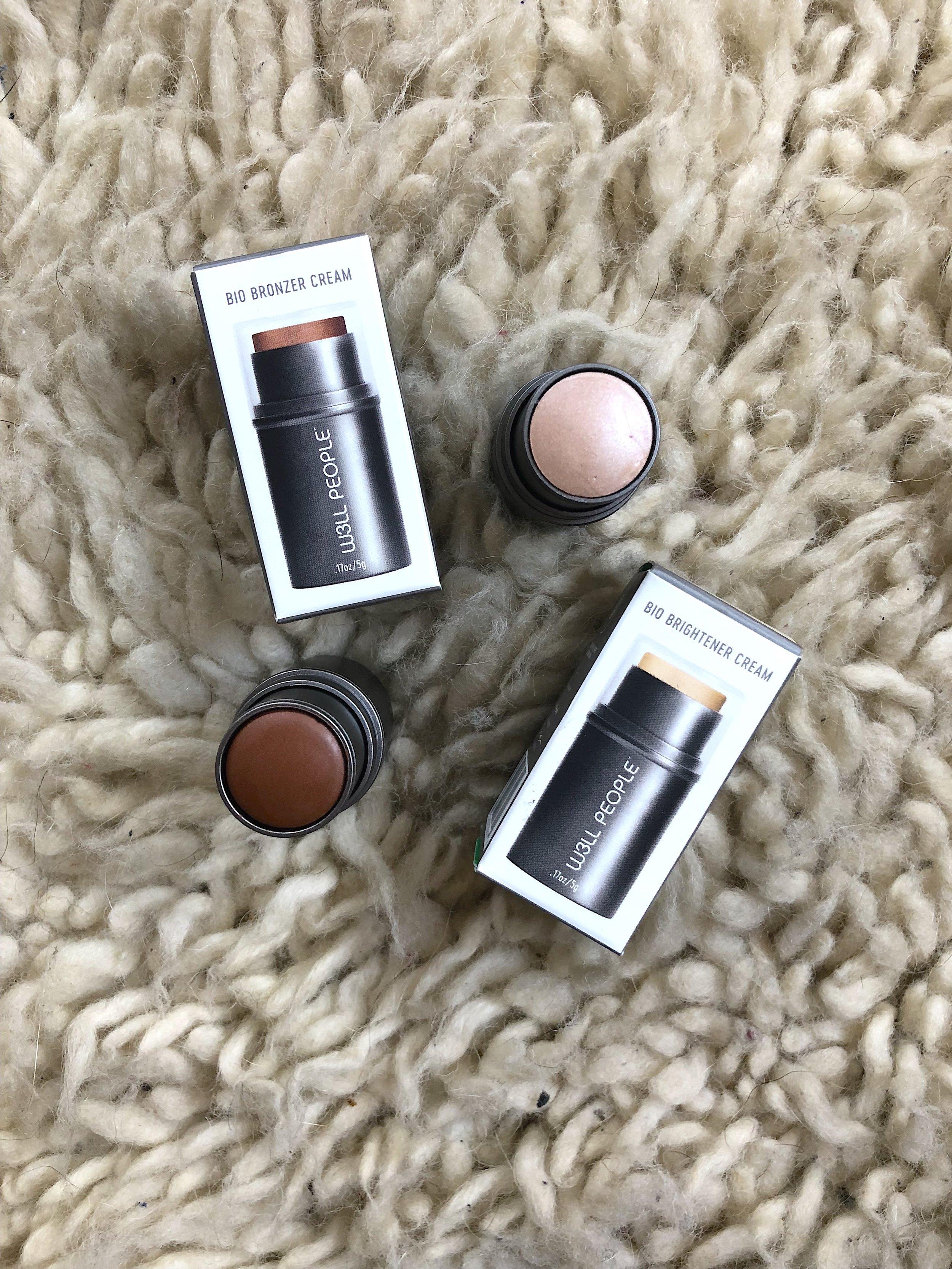 Fave Products W3ll People Bio Brightener Bronzer Creams