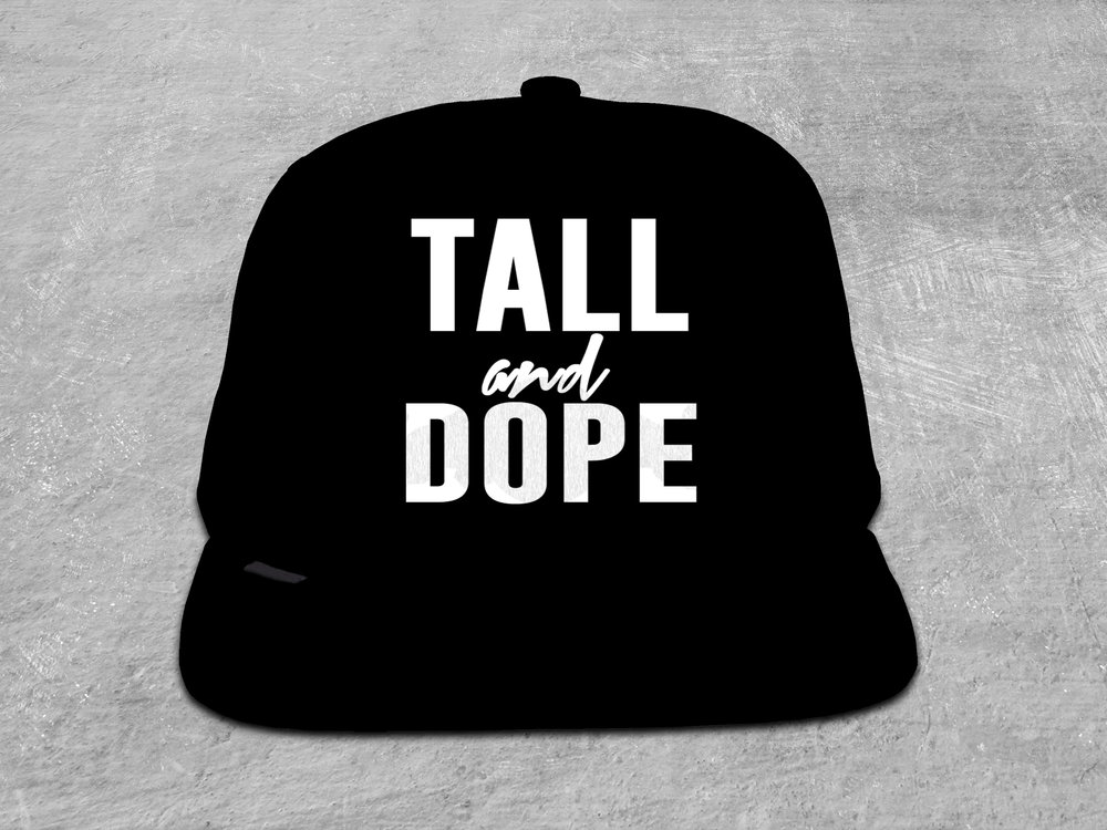 Tall & Dope iPhone Snapbacks   Available in Adult Sizing
