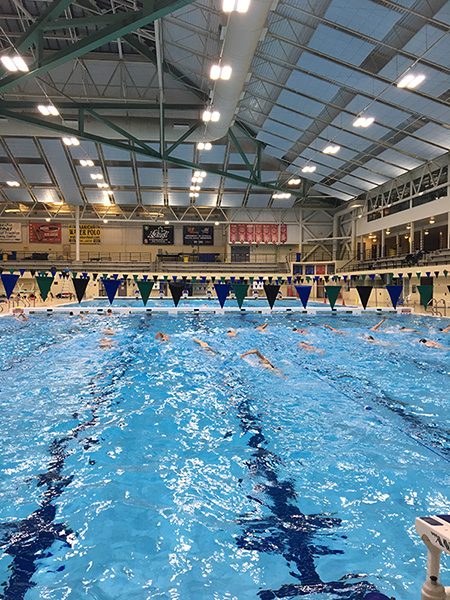 Swimming Options - Tues/Thurs Evening SwimMarch 5th - June 2nd7:45-8:45pm (Competition Pool)Mix of swimming & drills.Course Code: 845706Cost: $120 + taxSunday Endurance/Recovery SwimMarch 10th - June 2nd9:00-10:00am (Competition Pool)More relaxed distance focus swim.Course Code: 845707Cost: $90 + tax