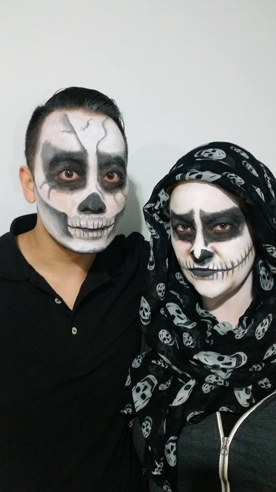 halloween makeup commission 2014