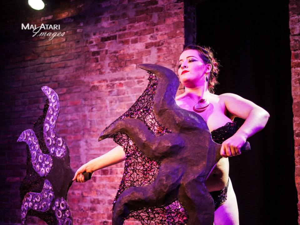 Photo by Mai Atari taken at  Dirty Disney Cabaret , Gorilla Tango Theater, 2015