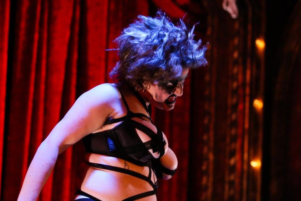 Photo by Chris Neseman Halloween 2016 at the Kiss Kiss Cabaret