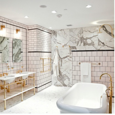 Glamorous Master Bath Created With All Luxurious Finishes