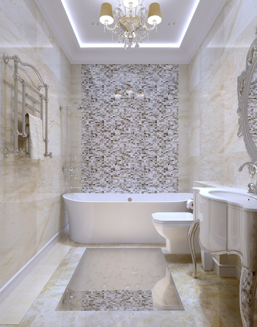 interior design in old metairie and lakeview new orleans viewing a glamorous marble master bathroom