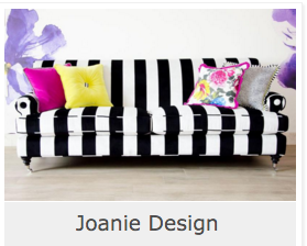 Another Joanie Design Upholstered Piece To ENLIVEN ANY HOME!!