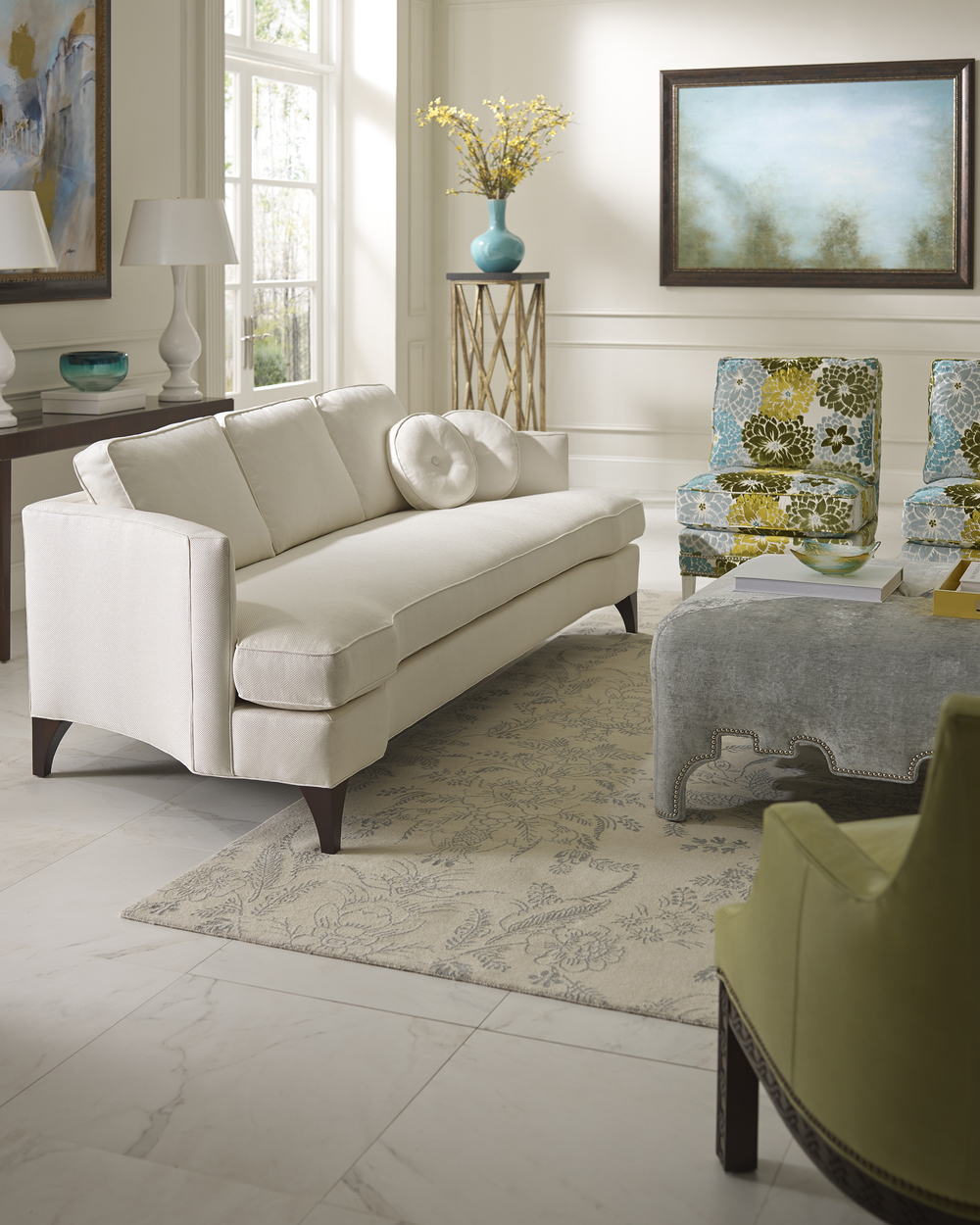 KHB Interiors New Orleans Taylor King Sofa Day of Design New Orleans Old Metairie
