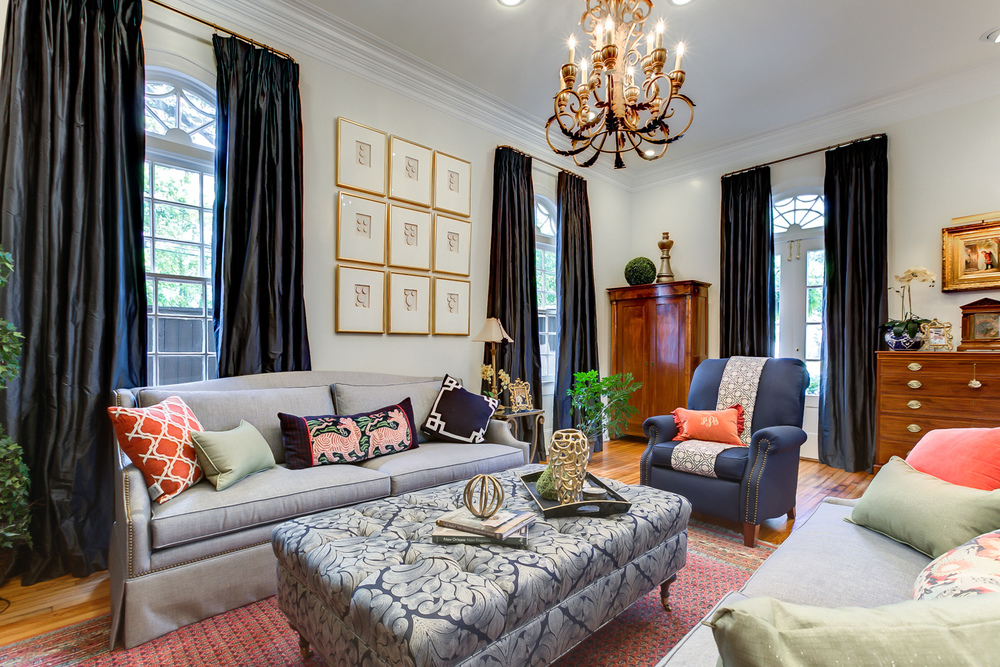 New orleans style interiors khb interiors for Interior designs new orleans