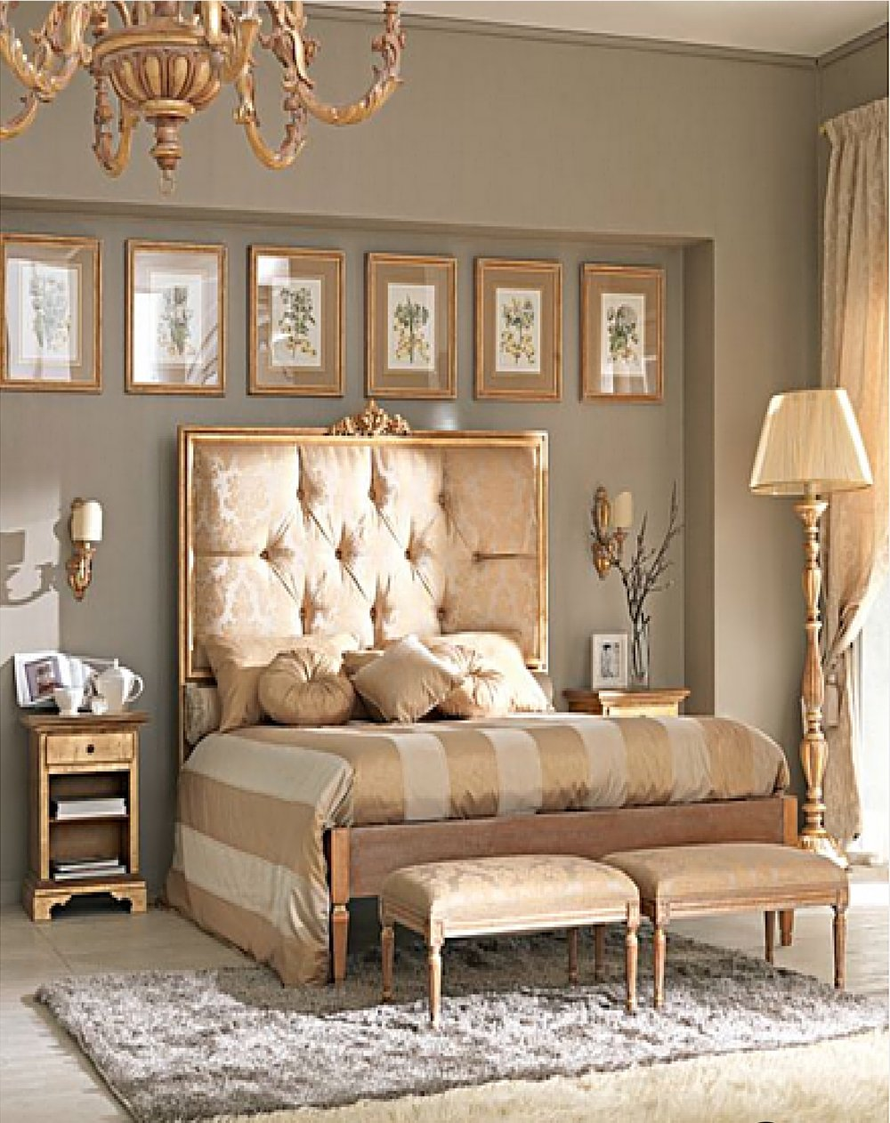 KHB Interiors New Orleans Interior Design Gold Spray Painted Items in Bedroom.jpg