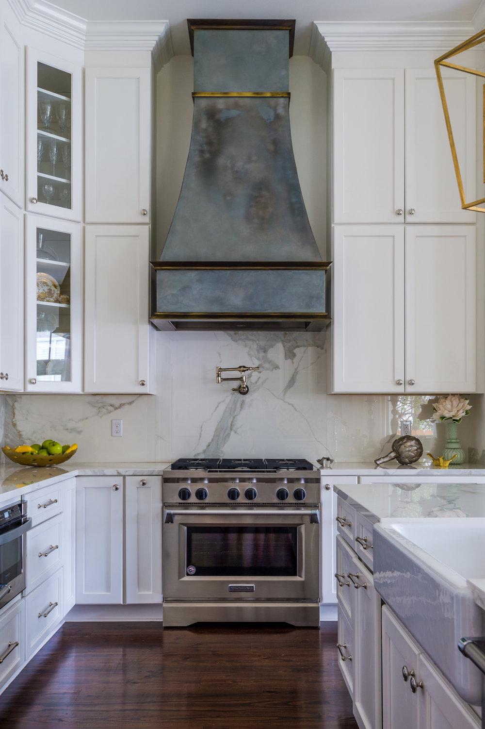 custom kitchen range hood new orleans design style khb interiors