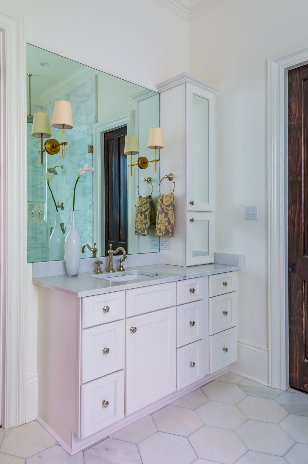 Charmant KHB Interiors Master Bathroom Vanity New Orleans Interior Decorator  Metairie Interior Designer River Ridge Lakeview New