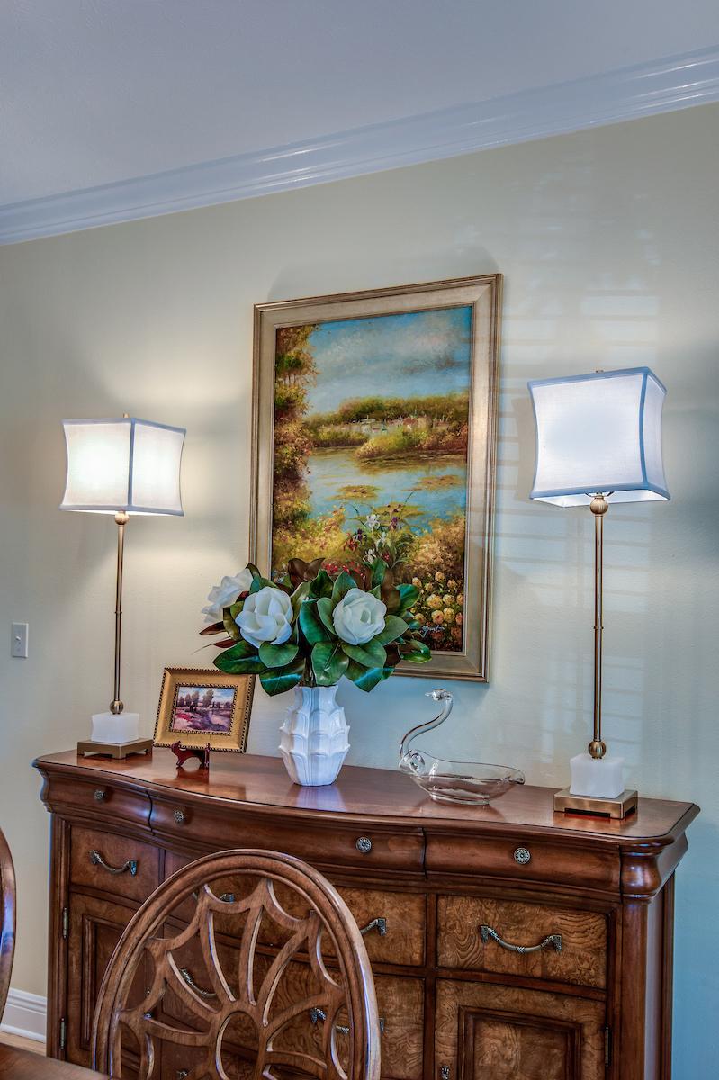 dining room buffet decor metairie traditional interior design khb interiors