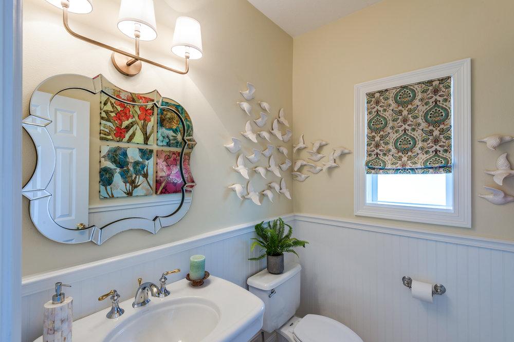 bathroom mirror frame new orleans design style khb interiors