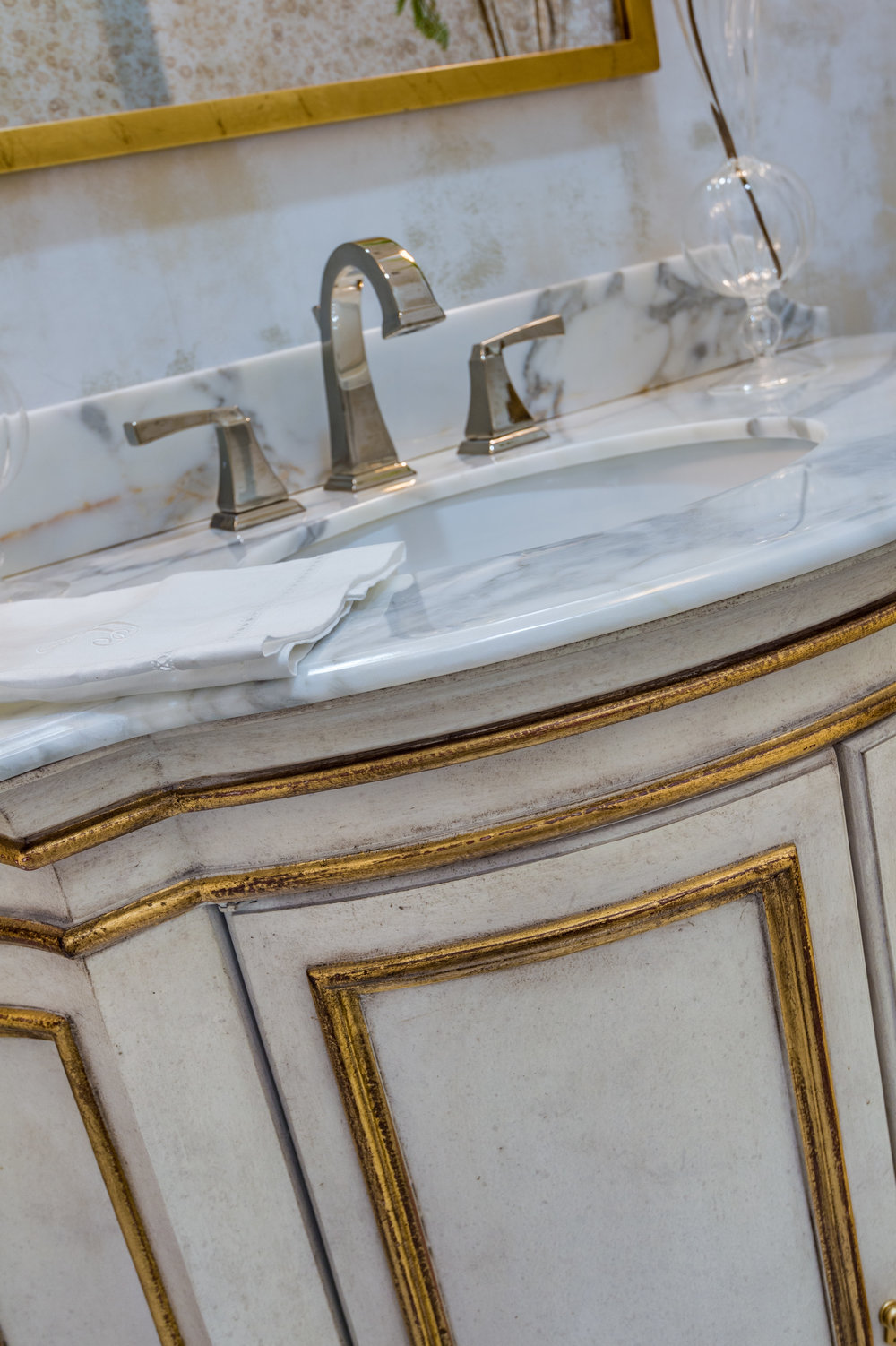 KHB Interiors up close custom vanity details shot gold new orleans custom furniture interior designer old metairie river ridge lakeview interior decorator up close powder mel.jpg