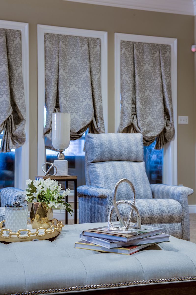 living room coffee table ottoman traditional interior design khb interiors