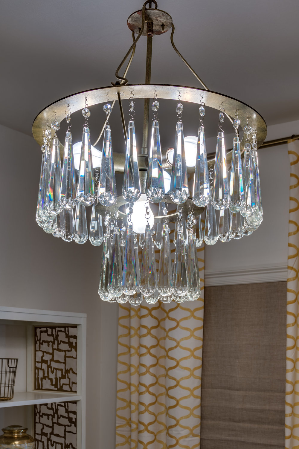 crystal chandelier metairie home interiors khb interiors