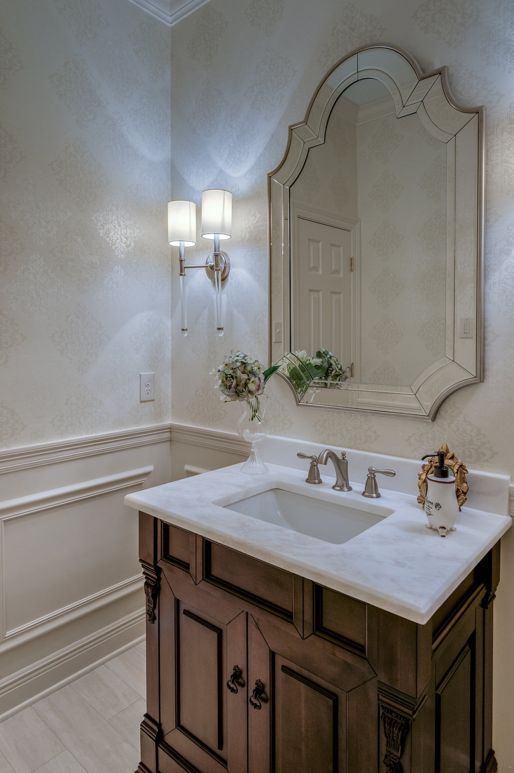 KHB Interiors powder room new orleans interior designer old metairie lakeview interior decorator.jpg
