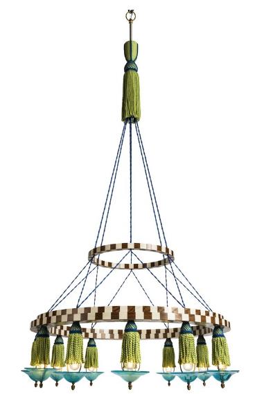 Lutyens Furniture Fringe Chandelier
