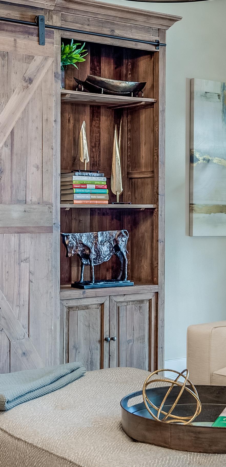 bookshelf decor metairie local interior designers khb interiors
