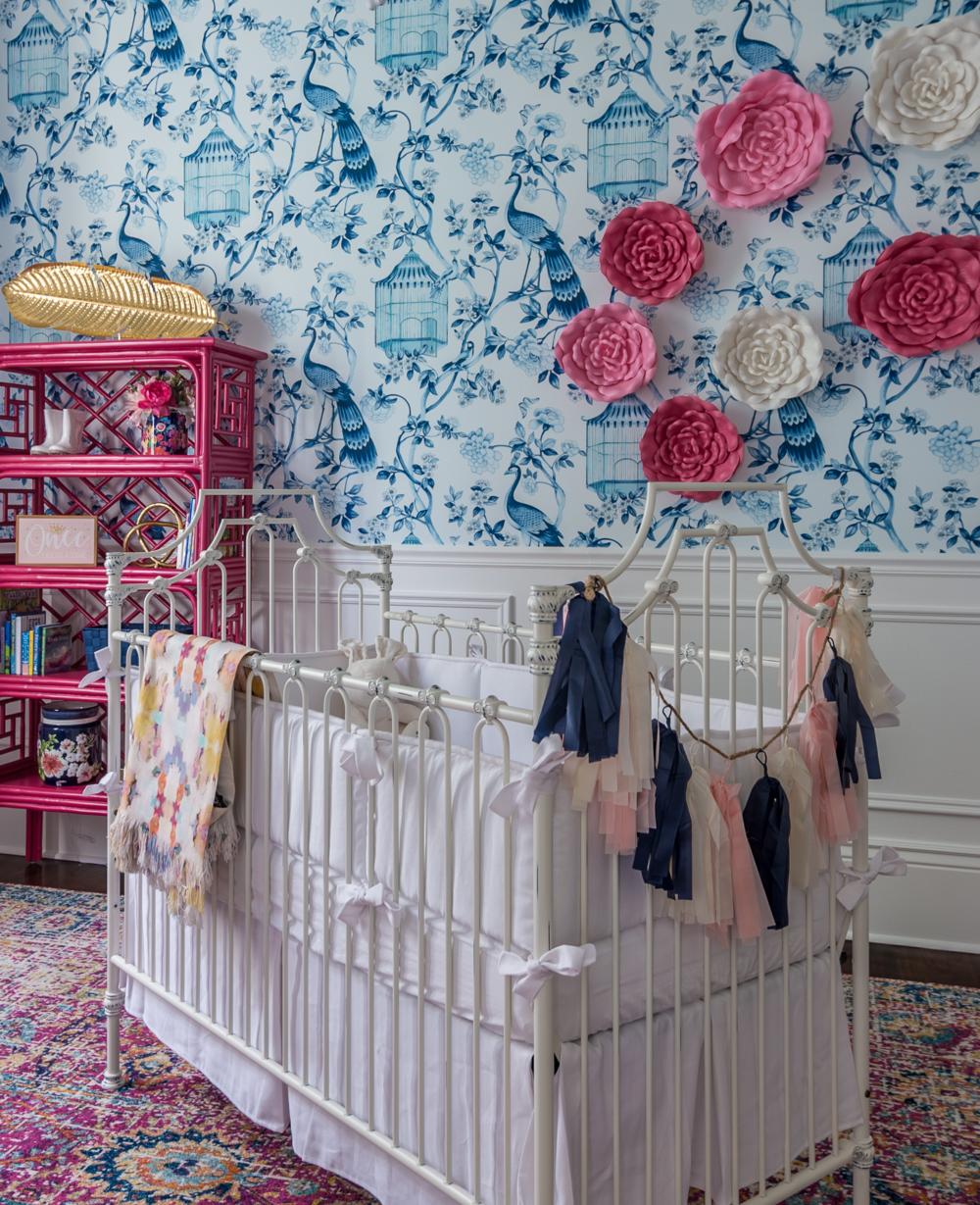 nursery wallpaper ideas metairie luxury interior design khb interiors