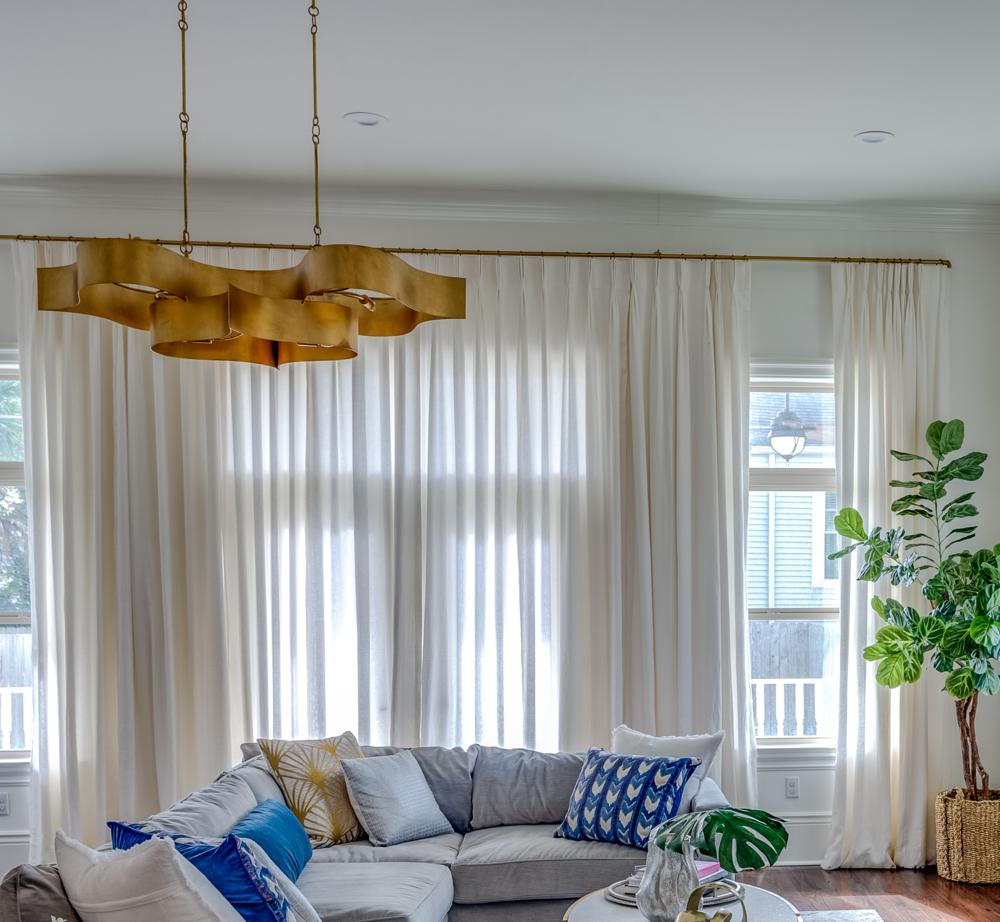 living room chandelier modern metairie uptown best interior design khb interiors