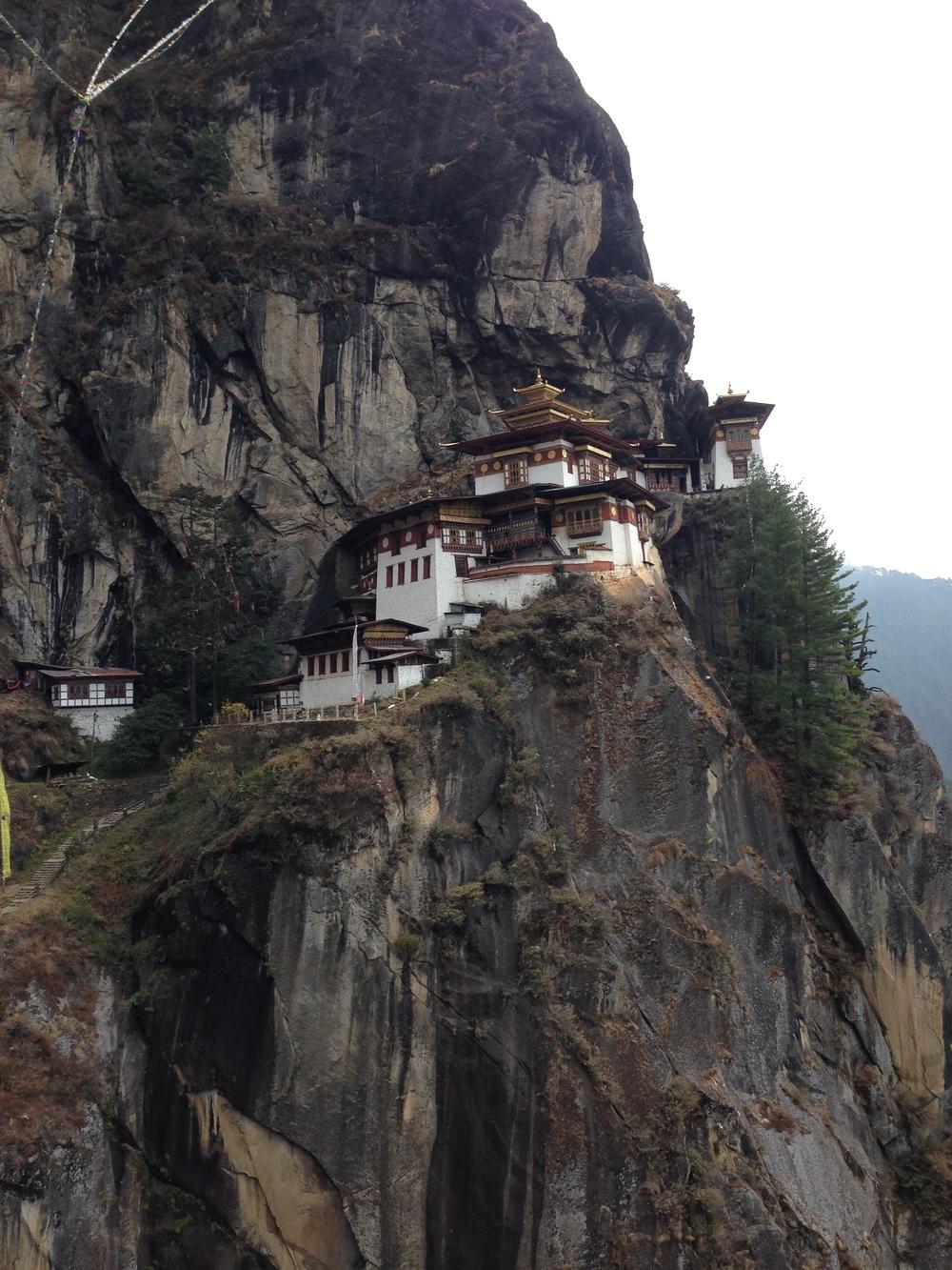 Tiger's Nest Monastery.