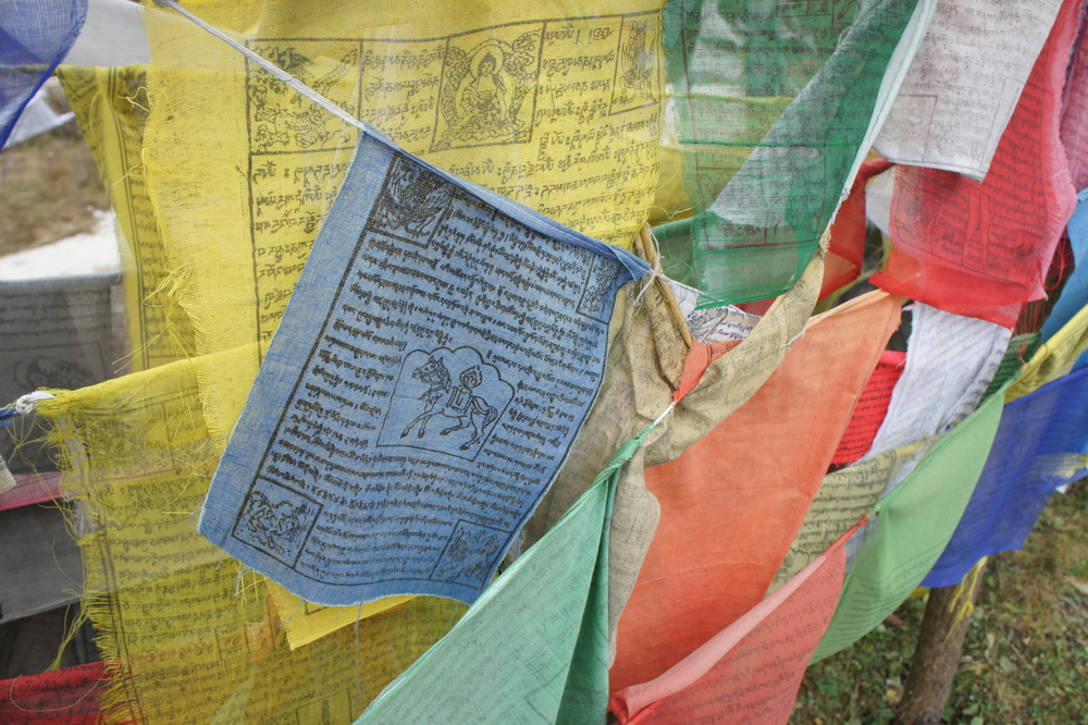 Prayer flags.