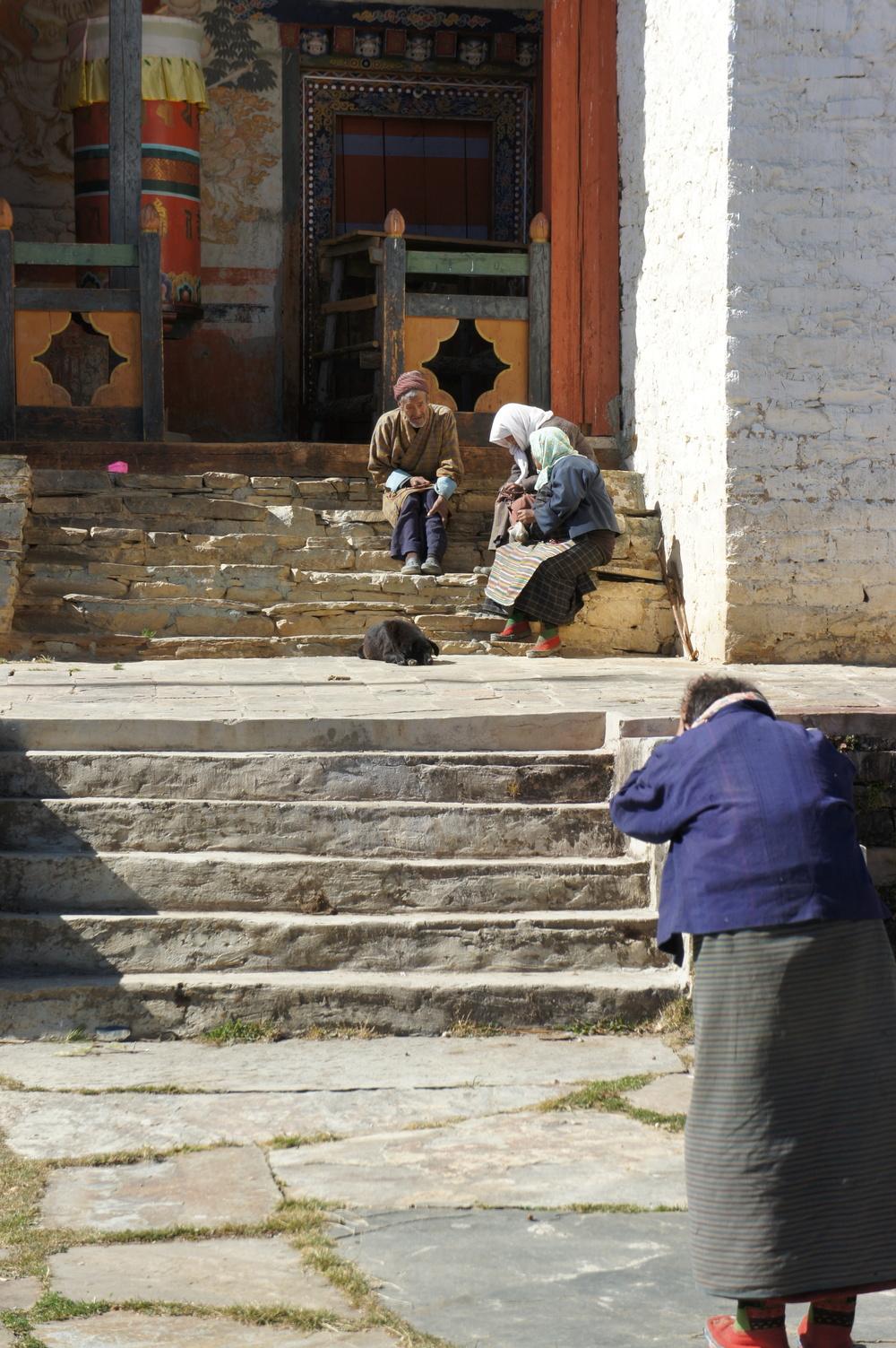 Ura village monastery.