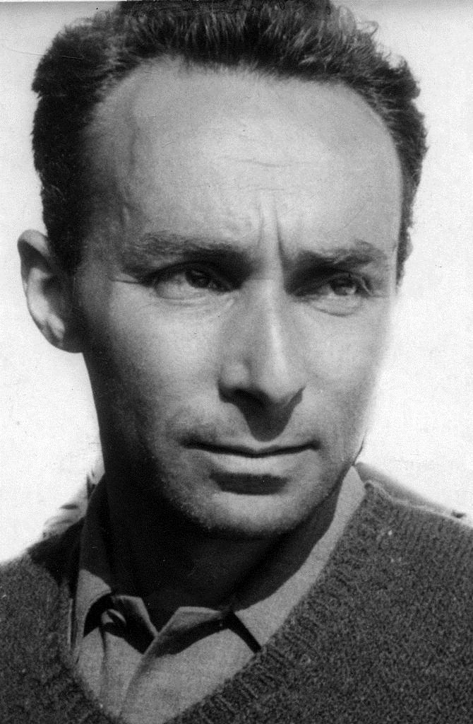 Primo Levi c. 1950s | [public domain]