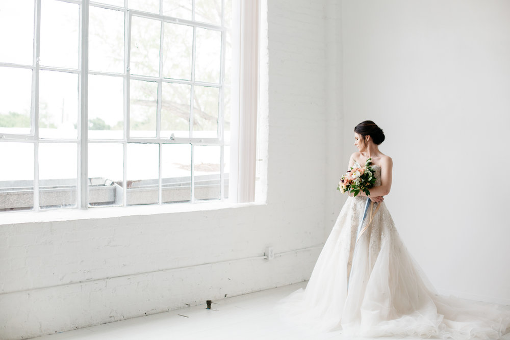 the lumen room | lulus bridal | the rogue rose | q the mua