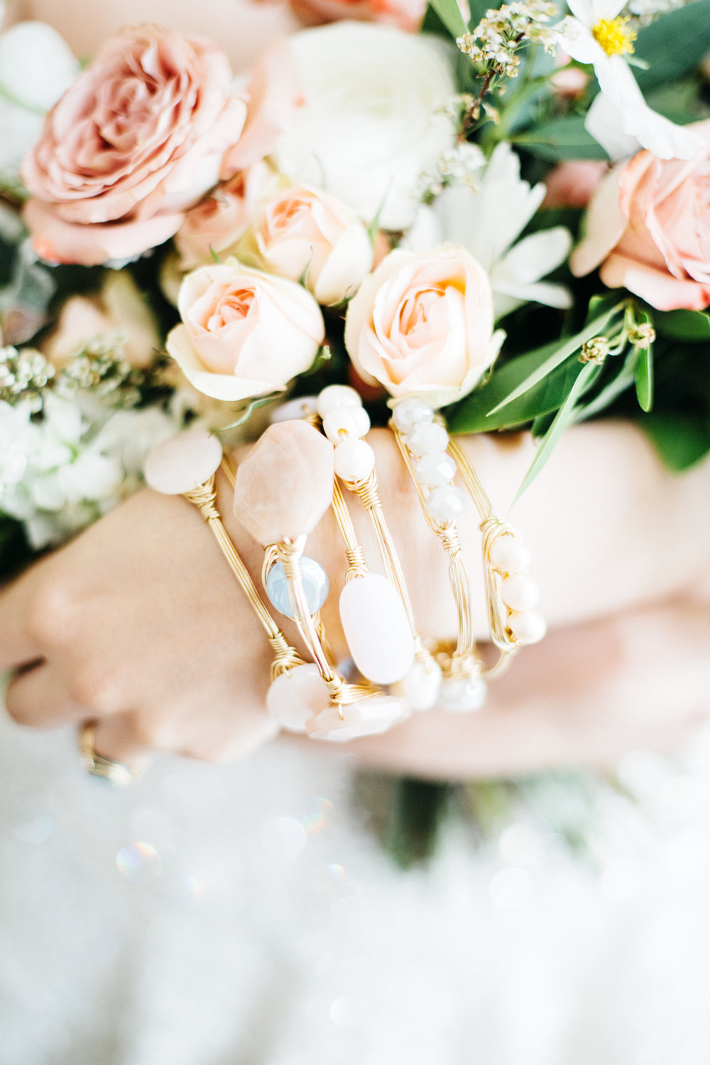 courtney & courtnie  jewelry | the rogue rose bouquet