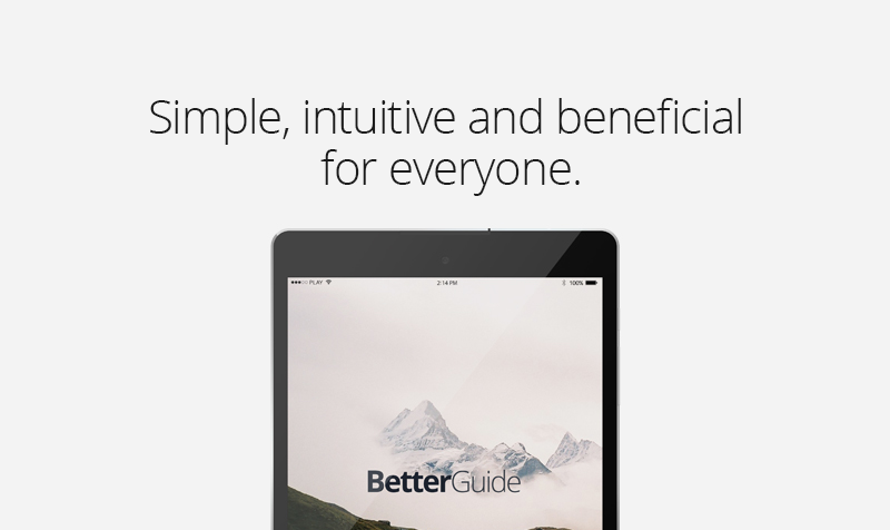 Learn about BetterGuide App